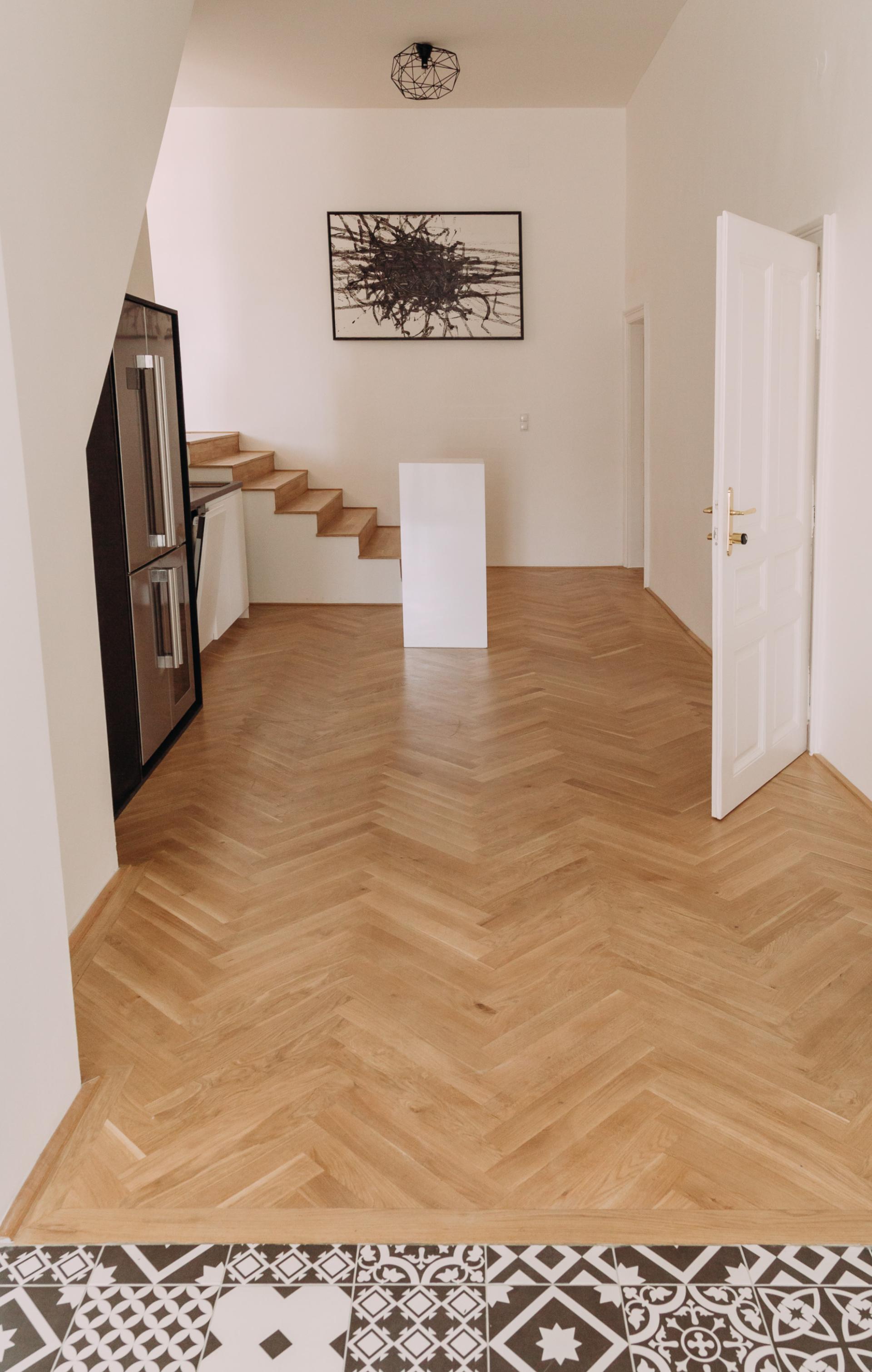 Foyer und Küche